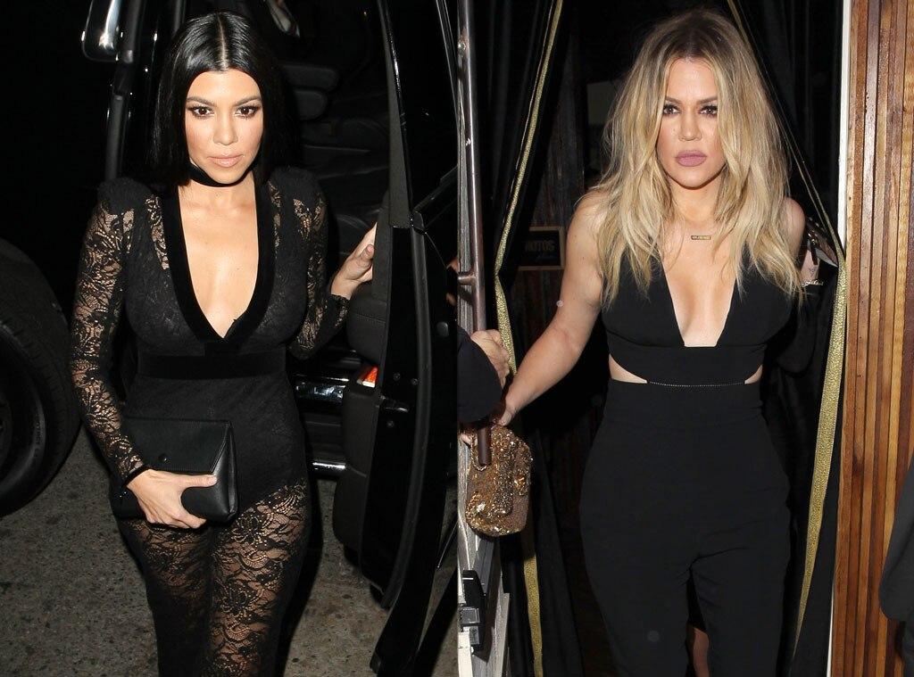 Kourtney Kardashian, 2016 Grammy Awards, Party Pics