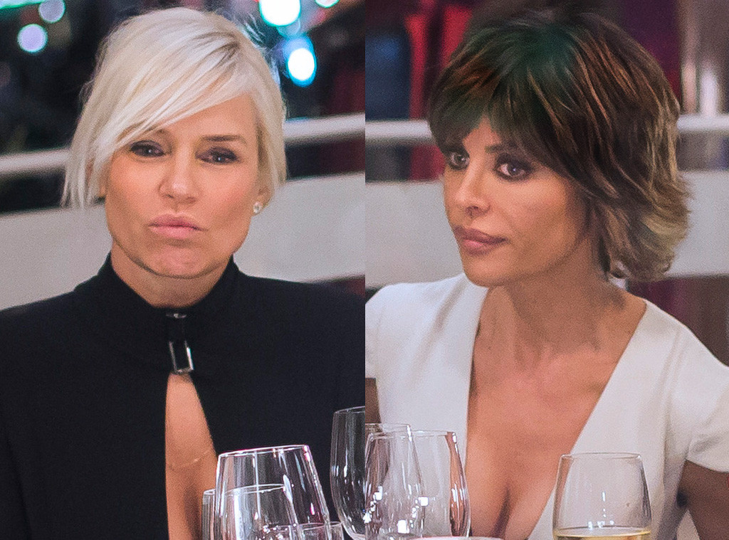 Yolanda Foster, Lisa Rinna, The Real Housewives of Beverly Hills