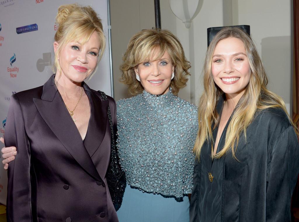 Melanie Griffith, Jane Fonda, Elizabeth Olsen