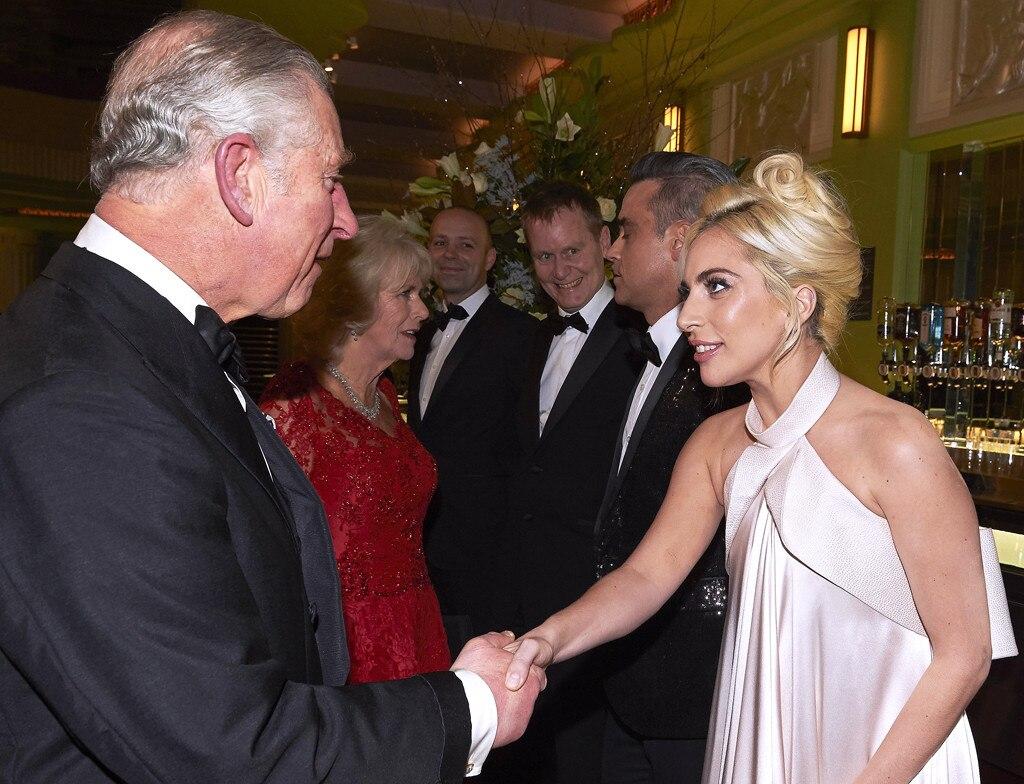 Prince Charles, Lady Gaga