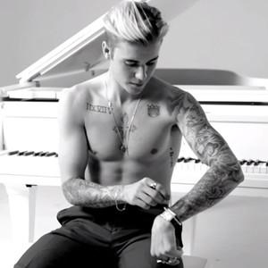 Justin Bieber, GQ tattoo video