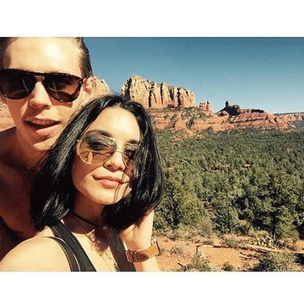 Vanessa Hudgens, Austin Butler, Instagram