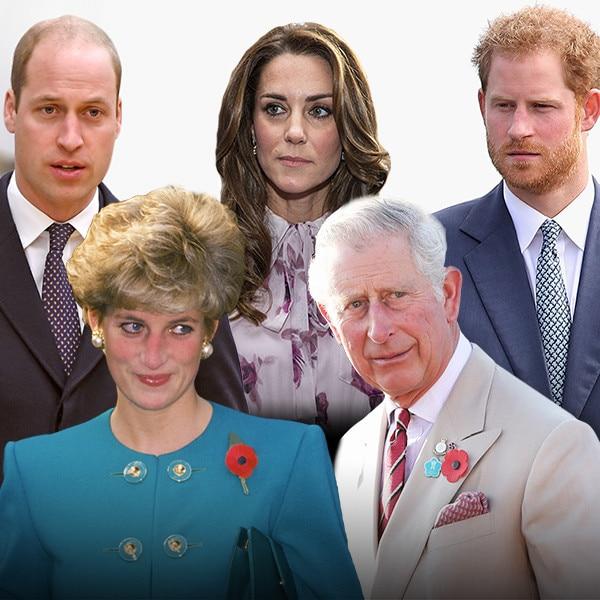 Royals Week, Prince William, Kate Middleton, Prince Harry, Princess Diana, Prince Charles