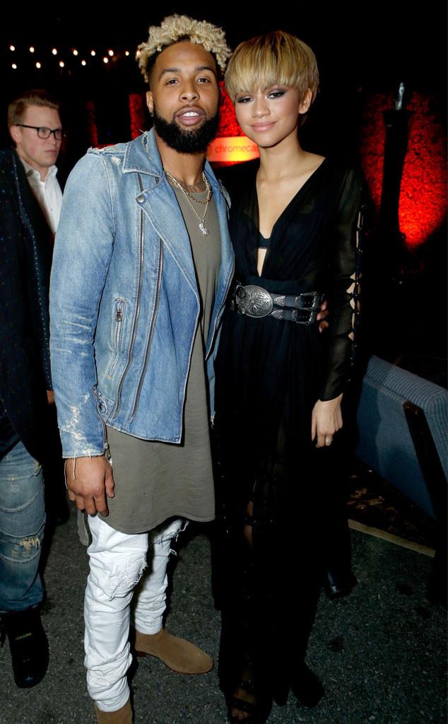 Odell Beckham Jr, Zendaya, 2016 Grammy Awards, Party Pics