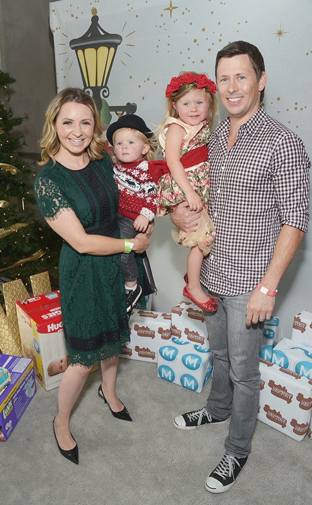 Beverley Mitchell, Michael Cameron, Christmas 2016
