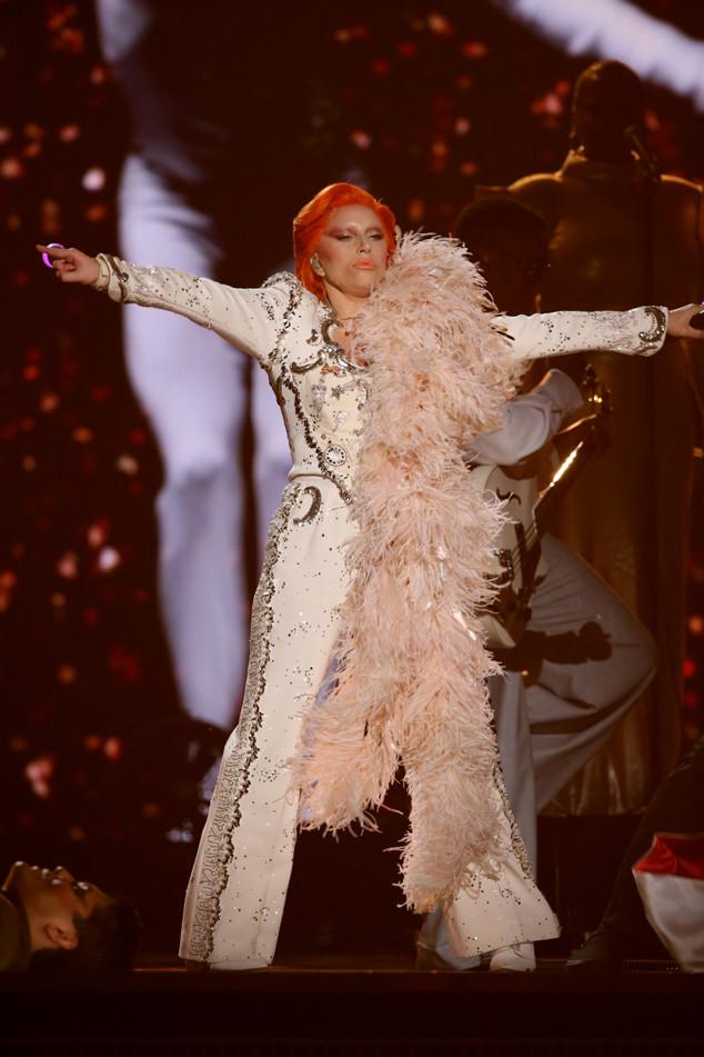 Lady Gaga, 2016 Grammy Awards, Show