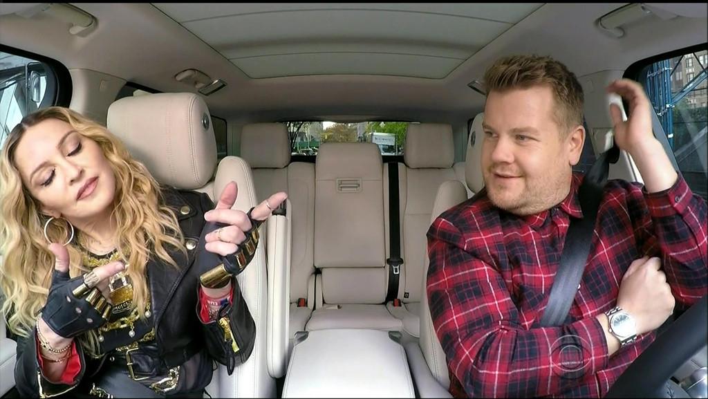 Madonna, Carpool Karaoke