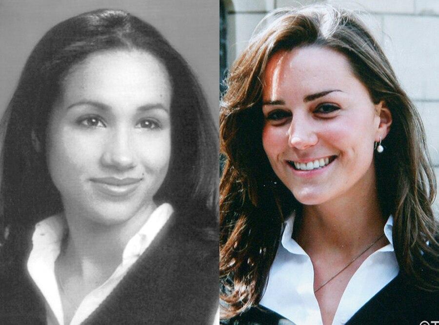 Meghan Markle, Yearbook, Kate Middleton