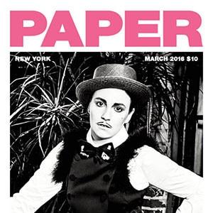 Lena Dunham, Paper Magazine March 2016