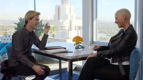 Hollywood Medium With Tyler Henry, Tyler Henry, Amber Rose, Hollywood Medium With Tyler Henry 104