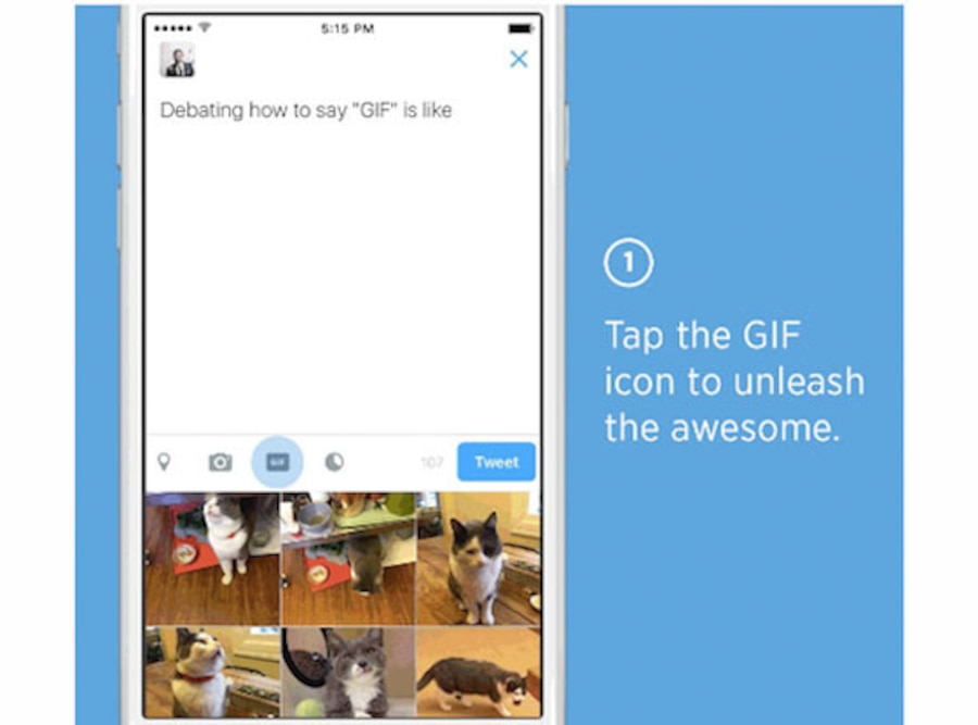 Twitter GIF Search