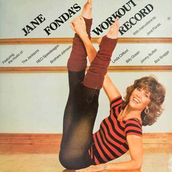 Jane Fonda, 80's workout