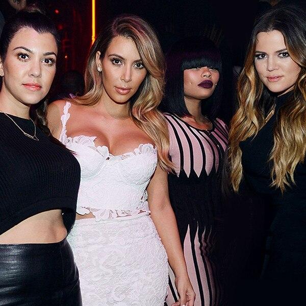 Kourtney Kardashian, Kim Kardashian, Blac Chyna, Khloe Kardashian