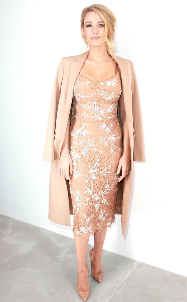 Blake Lively, New York Fashion Week, New York Fashion Week Star Sighting