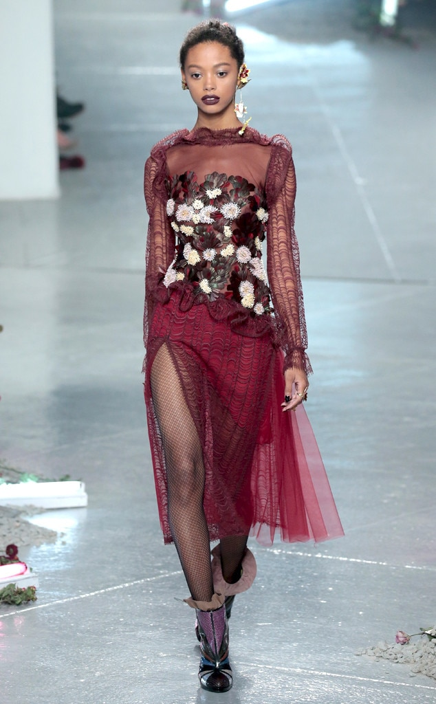 Rodarte From New York Fashion Week Fall 2016 Best Looks E News