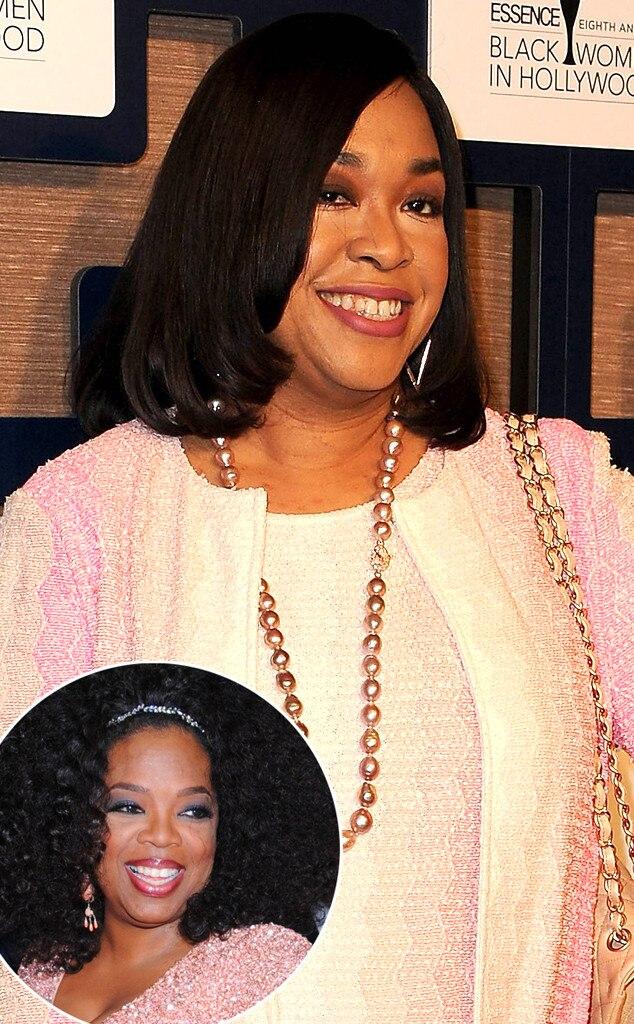 Shonda Rhimes, Oprah Winfrey