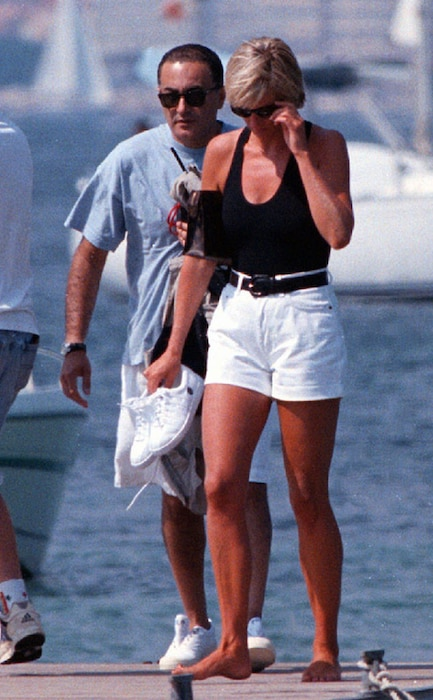 Dodi Al Fayed, Princess Diana