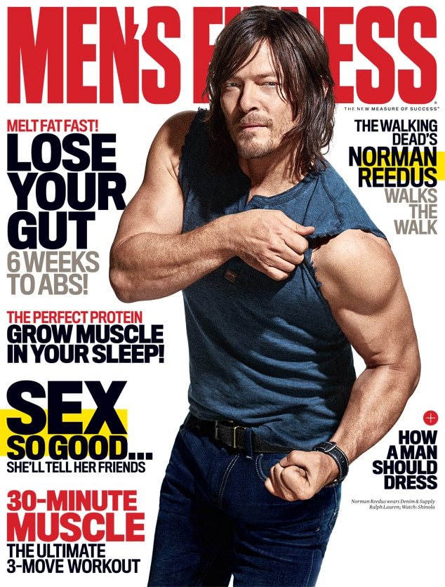Norman Reedus, Men's Fitness