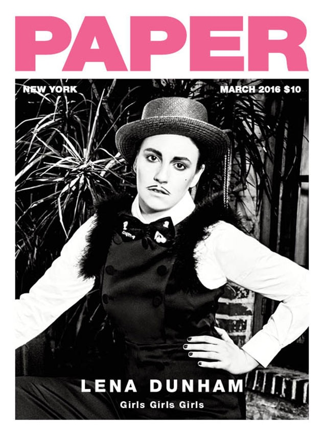 Lena Dunham, Paper Magazine March 2016