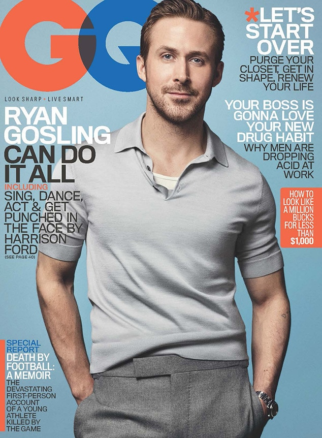 Ryan Gosling, GQ
