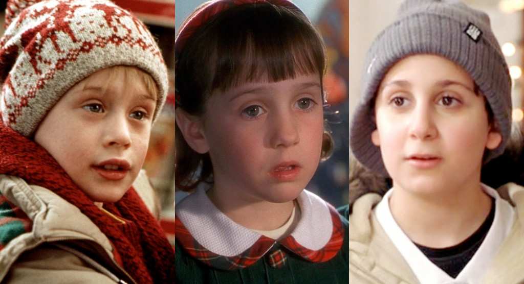 Kids in Christmas Movies, Then and Now