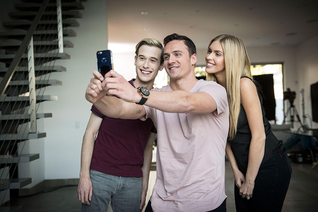 Tyler Henry, Ryan Lochte, Hollywood Medium
