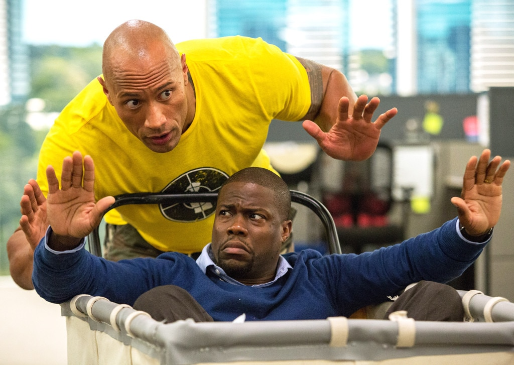 Kevin Hart, Dwayne Johnson, Central Intelligence