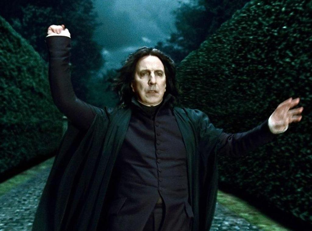 Alan Rickman, Harry Potter and The Deathly Hallows Photos