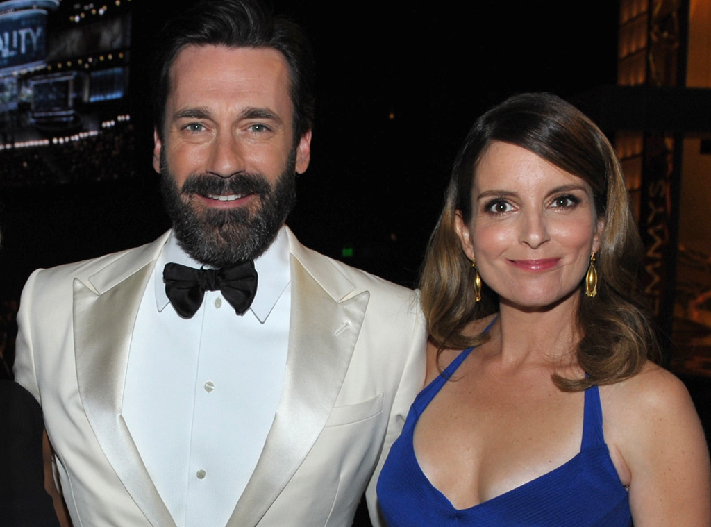 8 times tina fey and jon hamm defined friendship goals e news. Black Bedroom Furniture Sets. Home Design Ideas