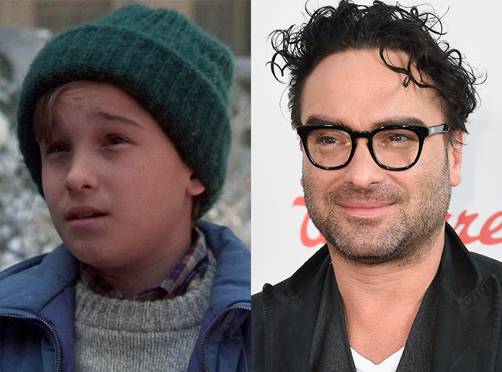 Kids in Christmas Movies, Then and Now, Johnny Galecki