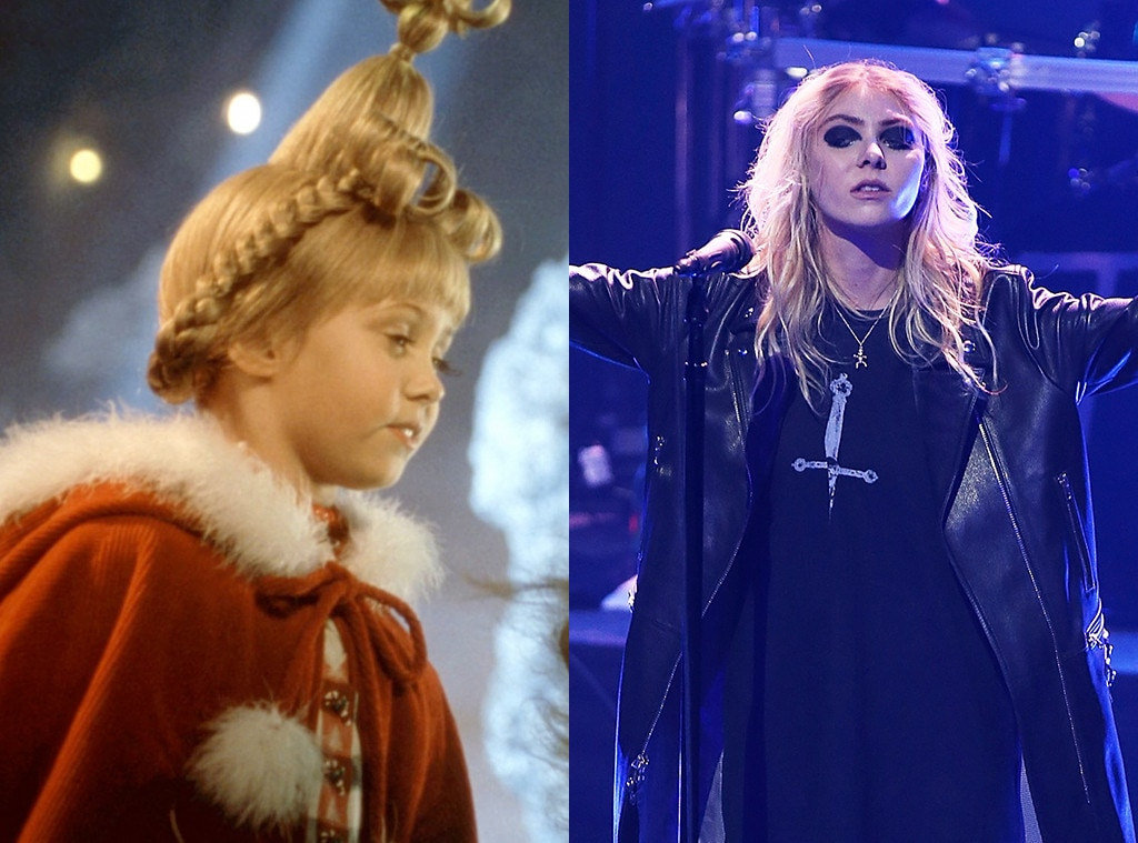 Kids in Christmas Movies, Then and Now, Taylor Momsen