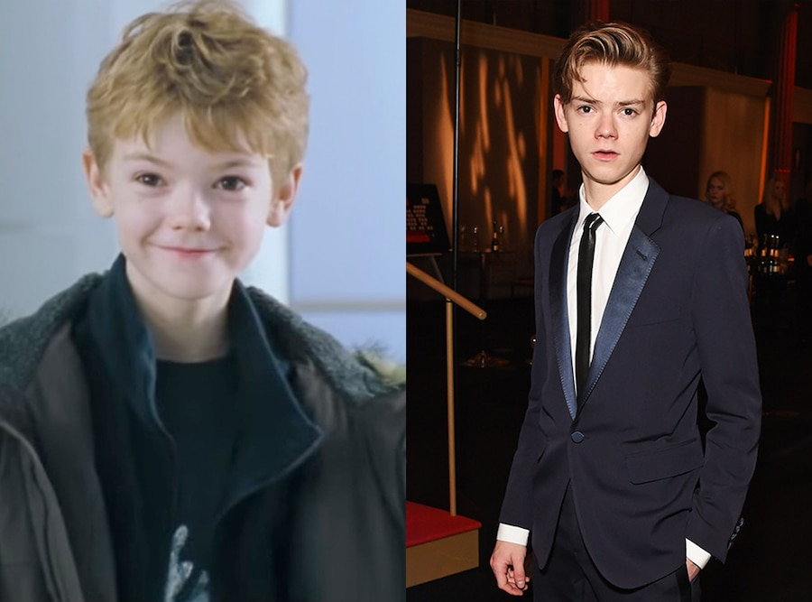 Kids in Christmas Movies, Then and Now, Thomas Sangster