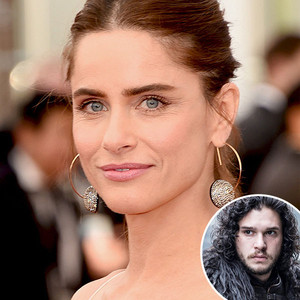 Amanda Peet, Kit Harington, Game of Thrones
