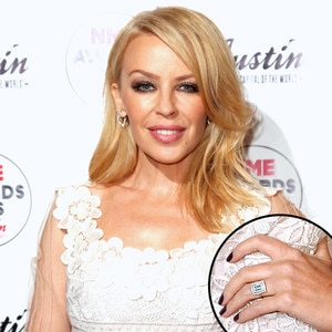 Kylie Minogue, Engagement Ring