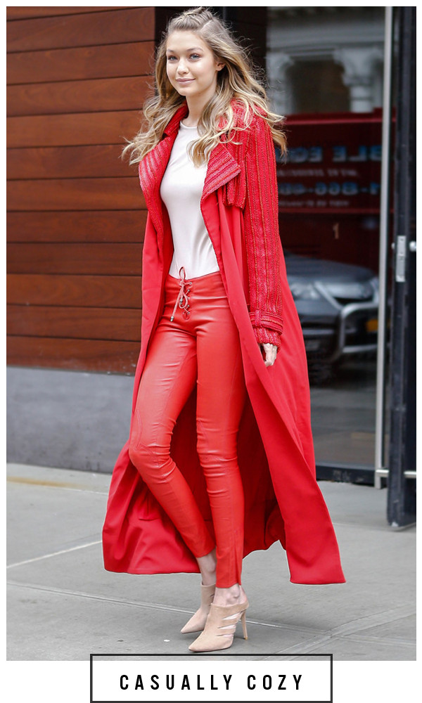 Gigi Hadid, NYFW, ESC: 5 Days 5 Ways