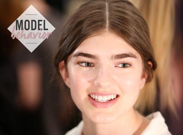 ESC: Backstage Beauty, New York Fashion Week, Model Behavior
