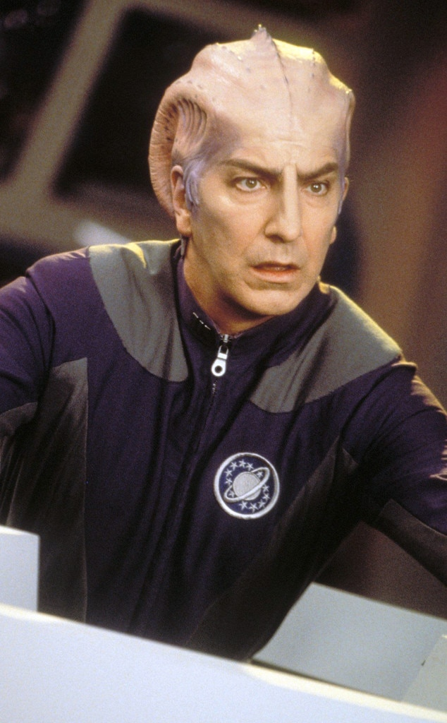 Galaxy Quest, Alan Rickman
