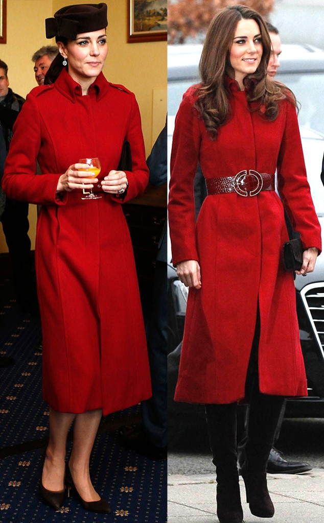 Kate Middleton, Duchess of Cambridge, Recycled Outfits
