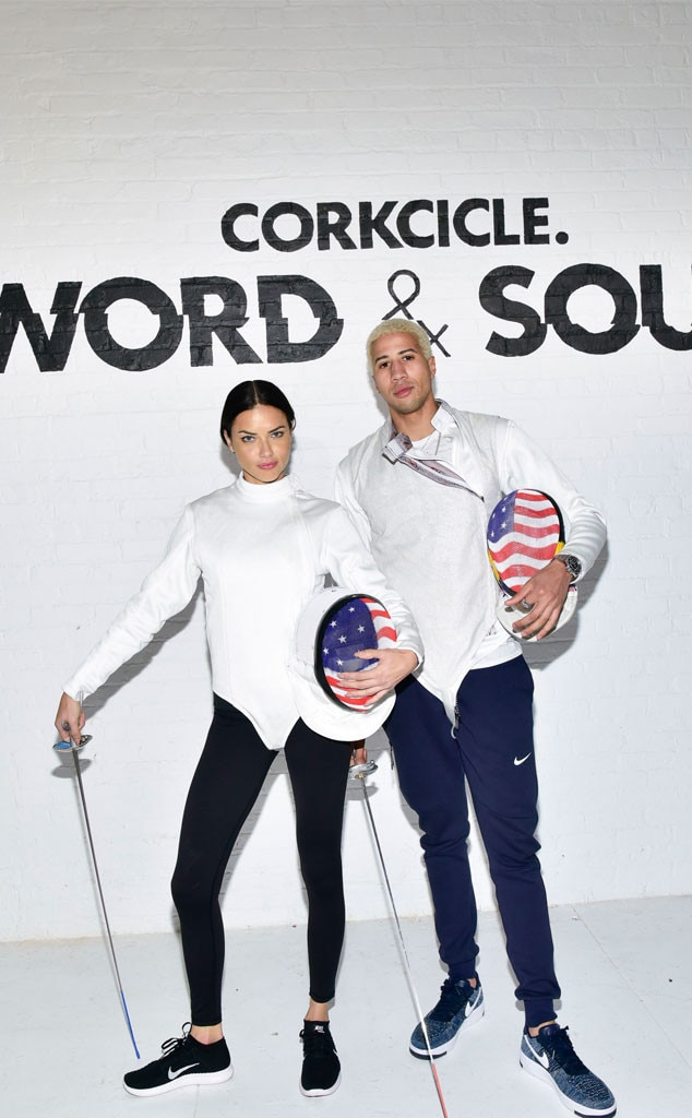 Adriana Lima, Miles Chamley-Watson, Corkcicle