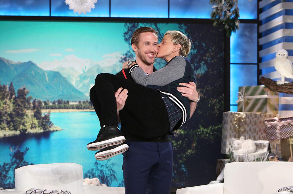 Ryan Gosling, Ellen DeGeneres
