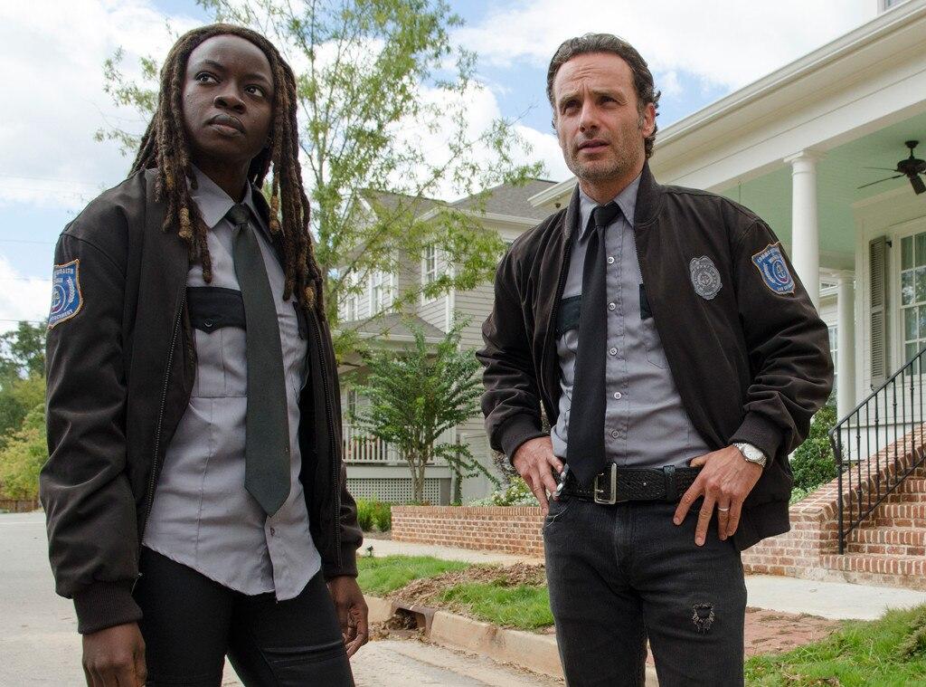 Dania Gurira, Andrew Lincoln, The Walking Dead