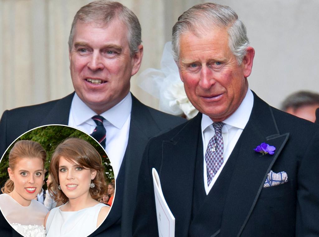 Prince Andrew, Prince Charles, Eugenie Beatrice