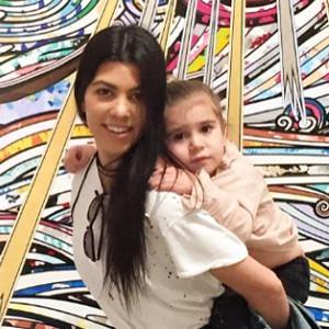 Kourtney Kardashian's Family Album