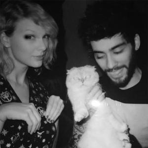 Taylor Swift, Zayn Malik, Instagram