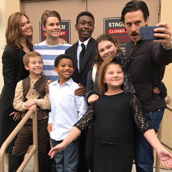 Going Behind the Scenes of <i>This Is Us</i> With the Adorable Cast