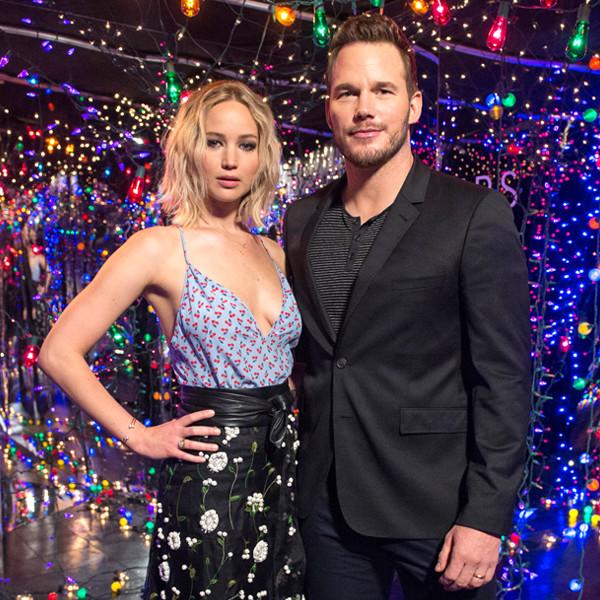 Chris Pratt, Jennifer Lawrence