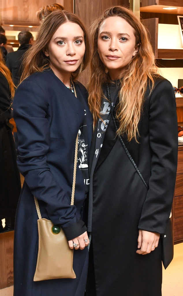 Ashley Olsen, Mary-Kate Olsen, NYFW