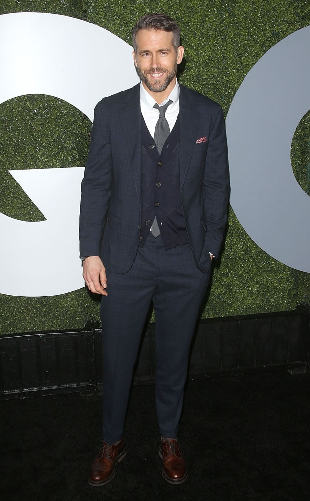 Ryan Reynolds, GQ Men of the Year Party