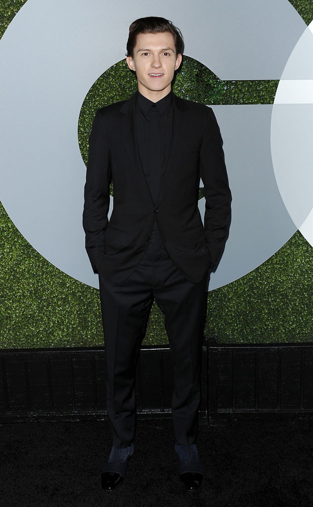 Tom Holland, GQ Men of the Year Party
