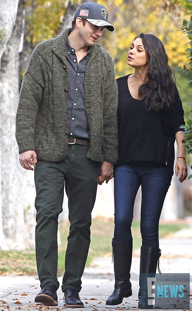 Mila Kunis Steps Out For First Time With Ashton Kutcher